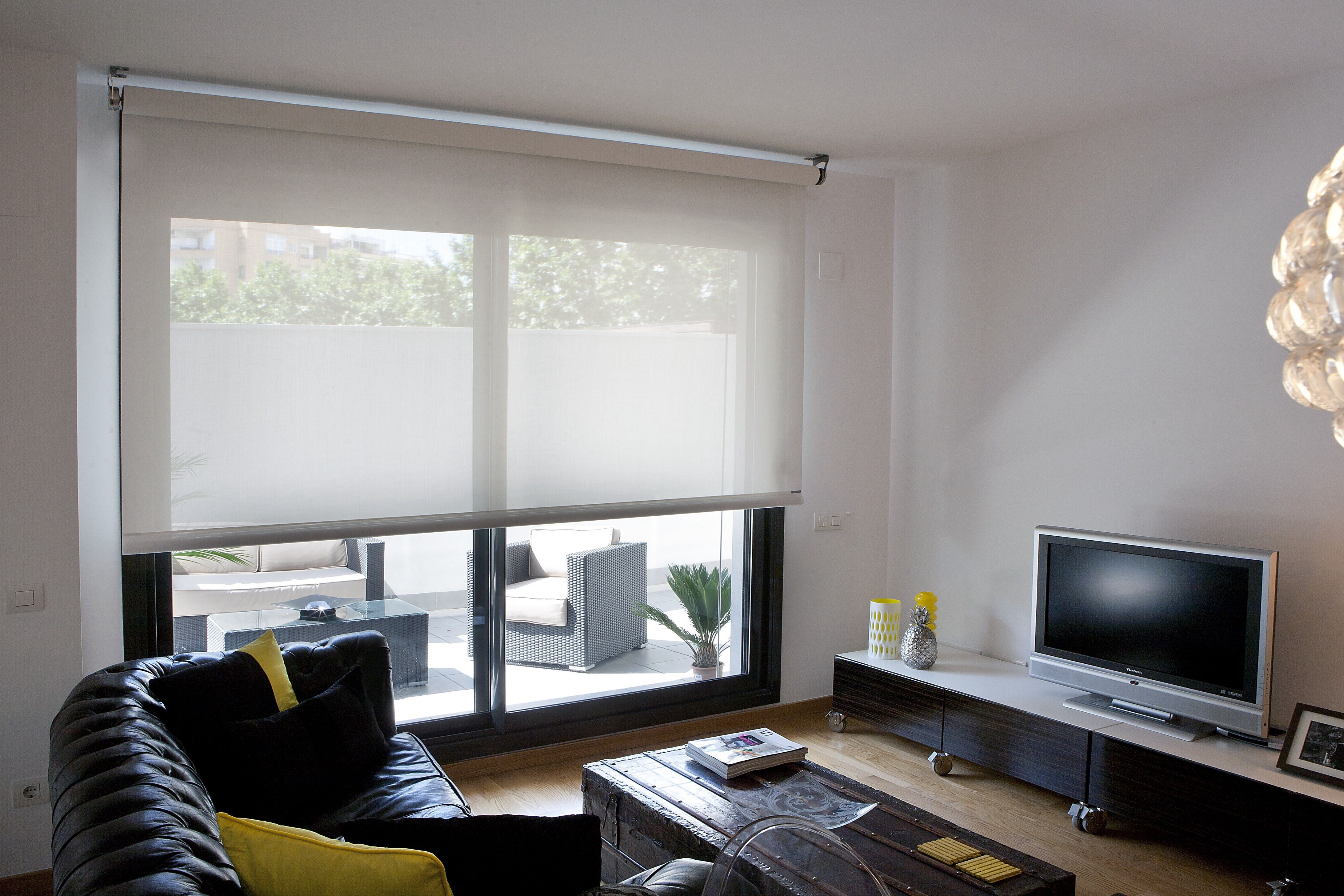 Espaziona cortinas y estores bandalux21 espaziona - Cortinas con estores ...