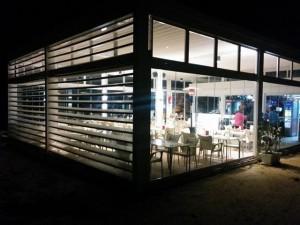 Instalaciones de cortinas de vidrio